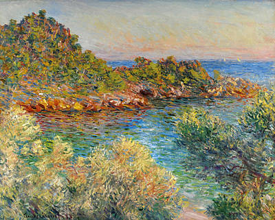 Painting - Near Monte Carlo by Claude Monet
