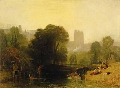 Locks Painting - Near The Thames Lock Windsor by Joseph Mallord William Turner