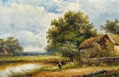 Near Yardley Print by Joseph Thors