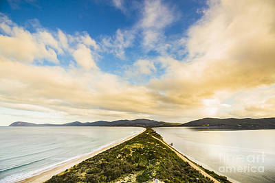 Neck Of Bruny Island Print by Jorgo Photography - Wall Art Gallery