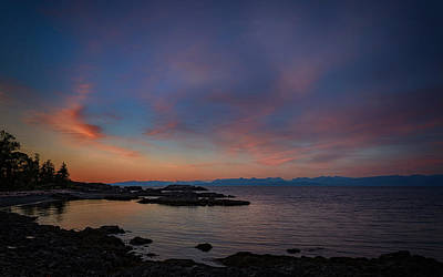 Nanaimo Photograph - Neck Point Sunset by Randy Hall