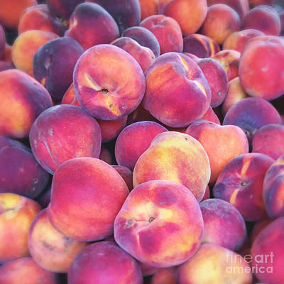 Nectarine Food Photograph Print by Ivy Ho