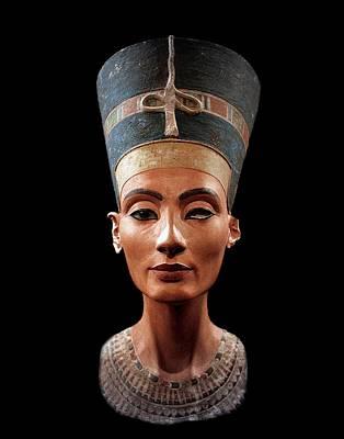 Concubine Sculpture - Nefertiti  by Egyptian School