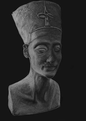 Nefertiti  Print by Nikolai Jonasson