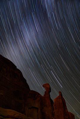 Night Workshop Photograph - Nefertiti Slide by Mike Berenson