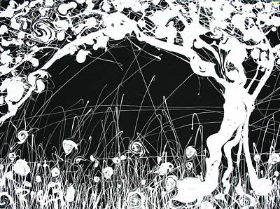 Negative Landscape Print by Ric Bascobert