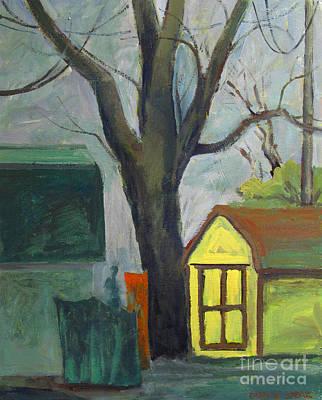 Neighbor Tom Print by Charlie Spear