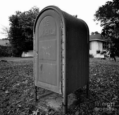 Mail Box Photograph - Neighborhood Box by David Lee Thompson