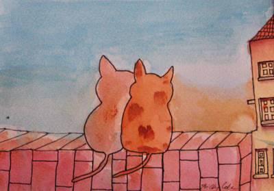Neighbourhood Watch Original by Trilby Cole