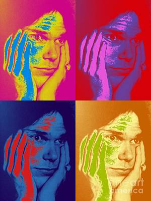 Neil Young Digital Art - Neil Young Pop Art by The Art of Alice Terrill