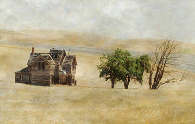 Nelson Homestead Print by Angie Vogel