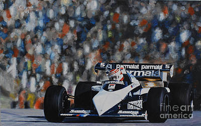 Nelson Piquet, Brabham Bt52b Original by Artem Oleynik