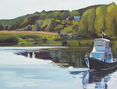 Neponset River Morning Print by Deb Putnam