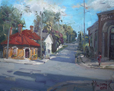 Carpet Painting - Norval Ontario by Ylli Haruni