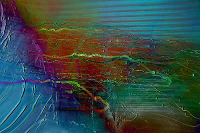 Abstarct Digital Art - Nerve Impulses by Linda Sannuti