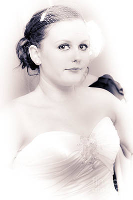 Youthful Photograph - Nervous And Apprehensive Bride Getting Ready by Jorgo Photography - Wall Art Gallery