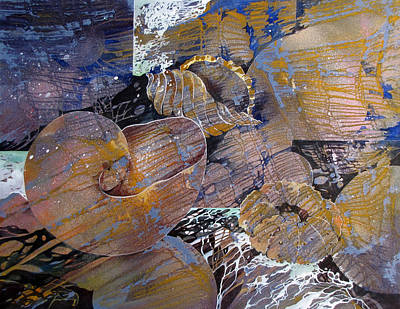 Netted Print by Rae Andrews
