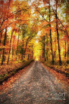 Never Ending Autumn Ap Print by Dan Carmichael