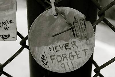 Never Forget Print by Jerry Patterson