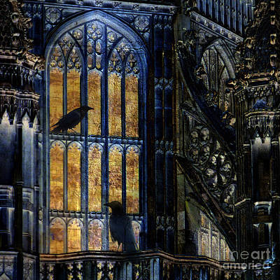 Westminster Abbey Digital Art - Nevermore by LemonArt Photography