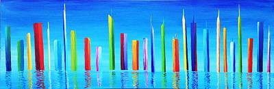 Morph Painting - New Atlantis by Maxwell Hanson