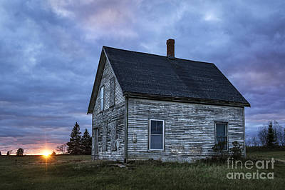New Day Old House Print by John Greim