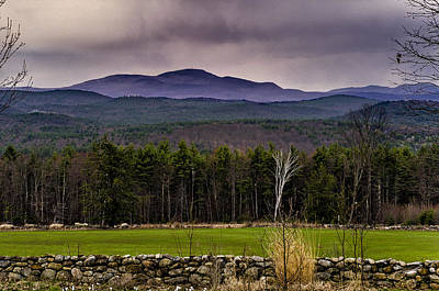 New England Spring In Oil Original by Mark Myhaver