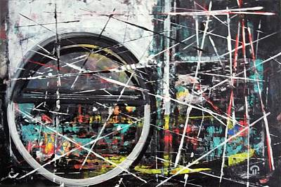 Painting - New Future. by Paul Pulszartti