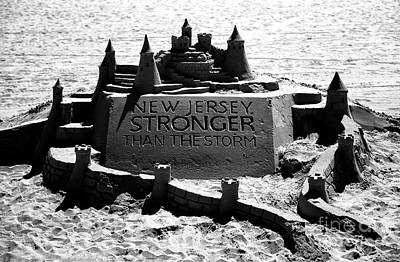 Strong America Photograph - New Jersey Stronger Than Storm by John Rizzuto
