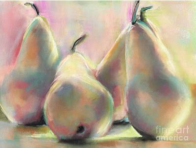 Painting - New Mexico Pears by Frances Marino