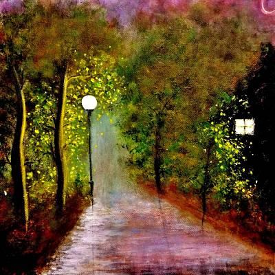 New Moon... Original by Cristina Mihailescu