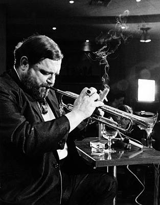 Jazz Musician Photograph - New Orleans, Al Hirt Shown In His Club by Everett
