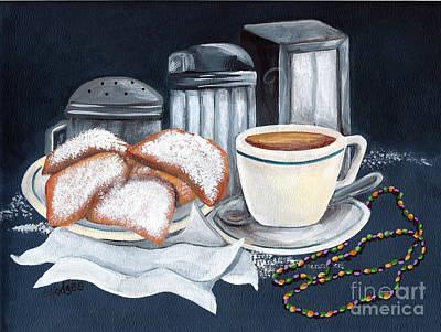 New Orleans Favorites Print by Elaine Hodges