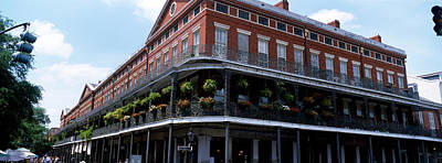 Flower Boxes Photograph - New Orleans La by Panoramic Images