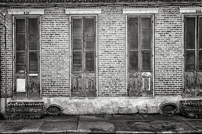 Black And White Photograph - New Orleans Living by Steven  Michael