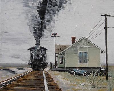 New Train Original by Steve Beaumont