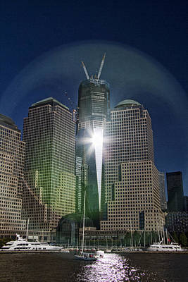 Renewal Photograph - New World Trade Center by David Smith