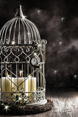 Bird Cages Photograph - New Year Candles by Amanda Elwell