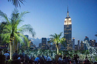 Photograph - New York 230 Fith Rooftop Bar  by Juergen Held