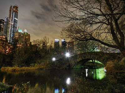 New York - Central Park 006 Print by Lance Vaughn