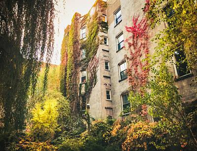 New York City Autumn East Village Print by Vivienne Gucwa