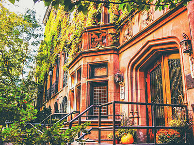 Townhouses Photograph - New York City Autumn by Vivienne Gucwa