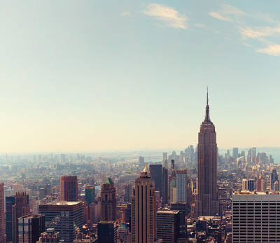 Nyc Photograph - New York City - Empire State Building by Thomas Richter