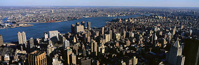 Empire State Photograph - New York City From Empire State Building by Panoramic Images