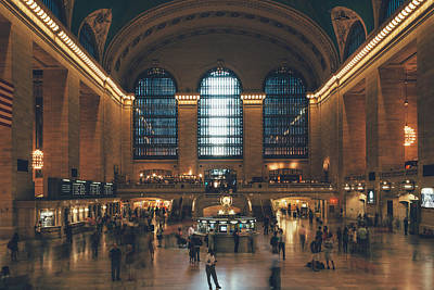 Photograph - New York City - Grand Central Terminal by Thomas Richter