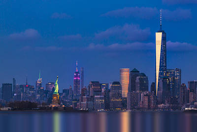 New York City Icons Print by Susan Candelario