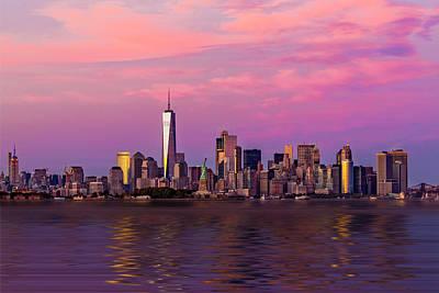 Chrysler Building Photograph - New York City Nyc  Landmarks by Susan Candelario