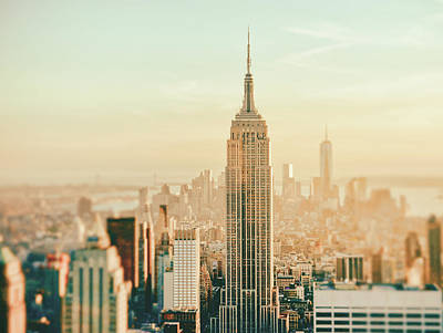 Empire State Building Photograph - New York City - Skyline Dream by Vivienne Gucwa
