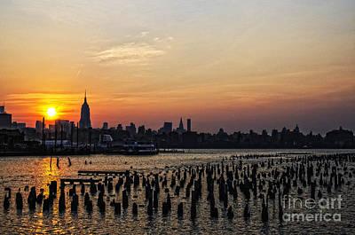 New York City Sunrise II Original by Zbigniew Krol