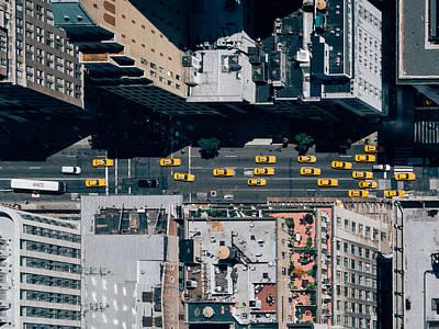 Photograph - New York City Traffic by Thomas Richter